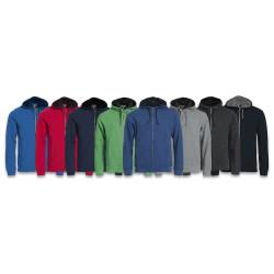 Sweatshirt Classic Hoody Full Zip CLIQUE