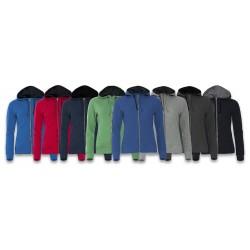 Sweatshirt Classic Hoody Full Zip Femme CLIQUE