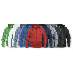 Sweatshirt Basic Hoody Full zip CLIQUE