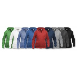 Sweatshirt Basic Hoody Full zip Femme CLIQUE