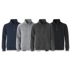 Sweatshirt Classic Half Zip CLIQUE