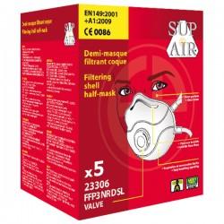 Masque Coque FFP3 NR D SL Coverguard